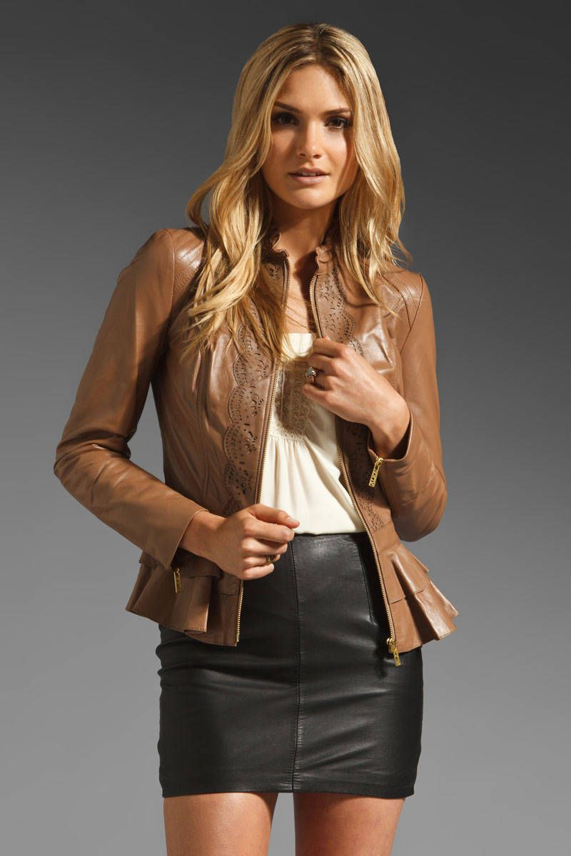 Best Designer Leather Jackets - Fall 2012 Leather Jackets for Women