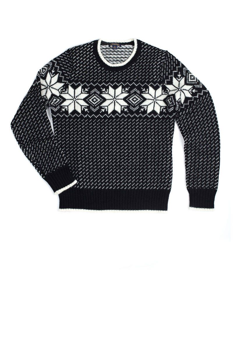 brooks brother snowflake sweater