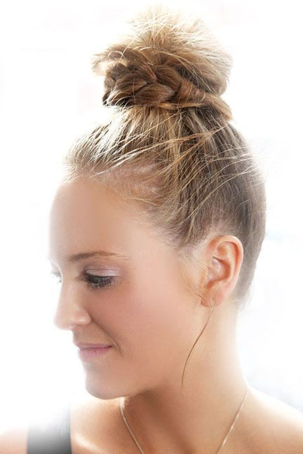 Beauty How To Topknot