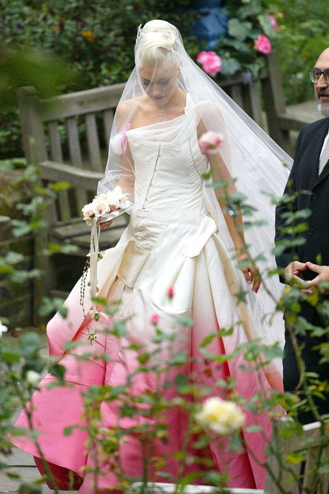 Celebrity Wedding Dresses Celebrity Bridal Style