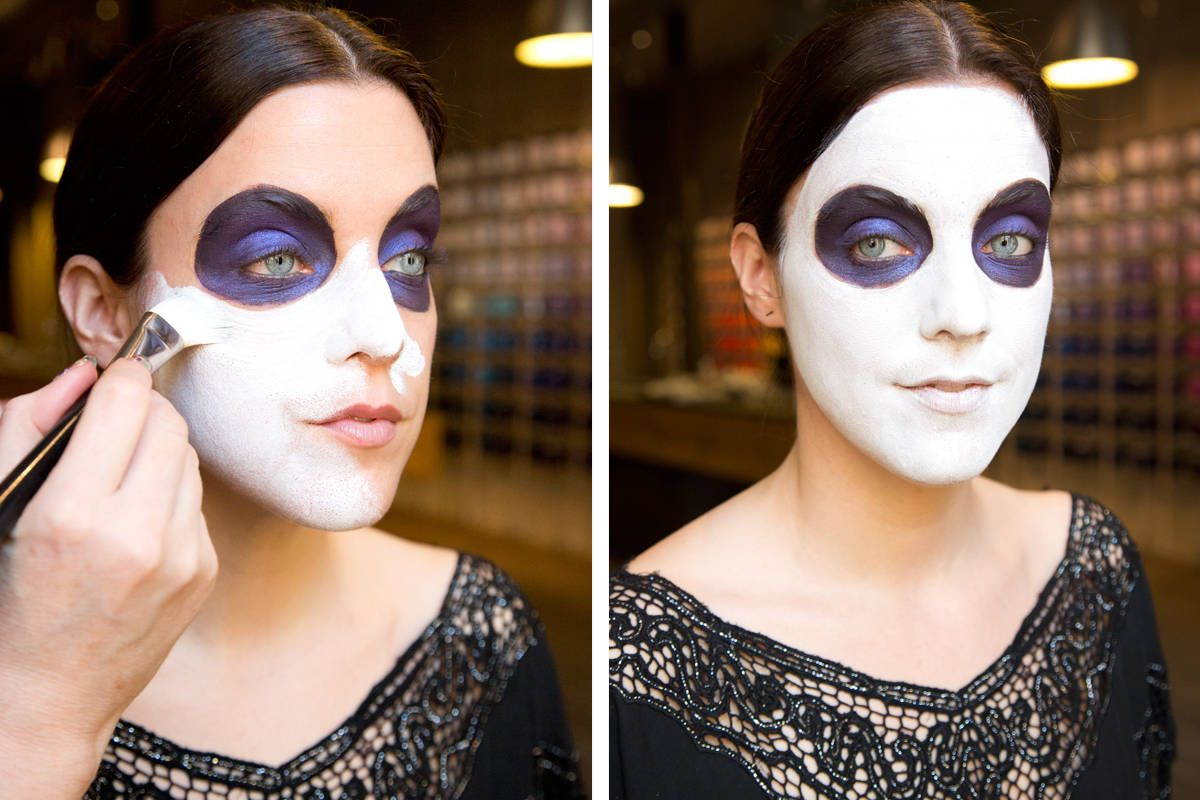 Sugar Skull Makeup How To How To Paint A Sugar Skull Face - Day-of-the-dead-makeup-tutorial-video