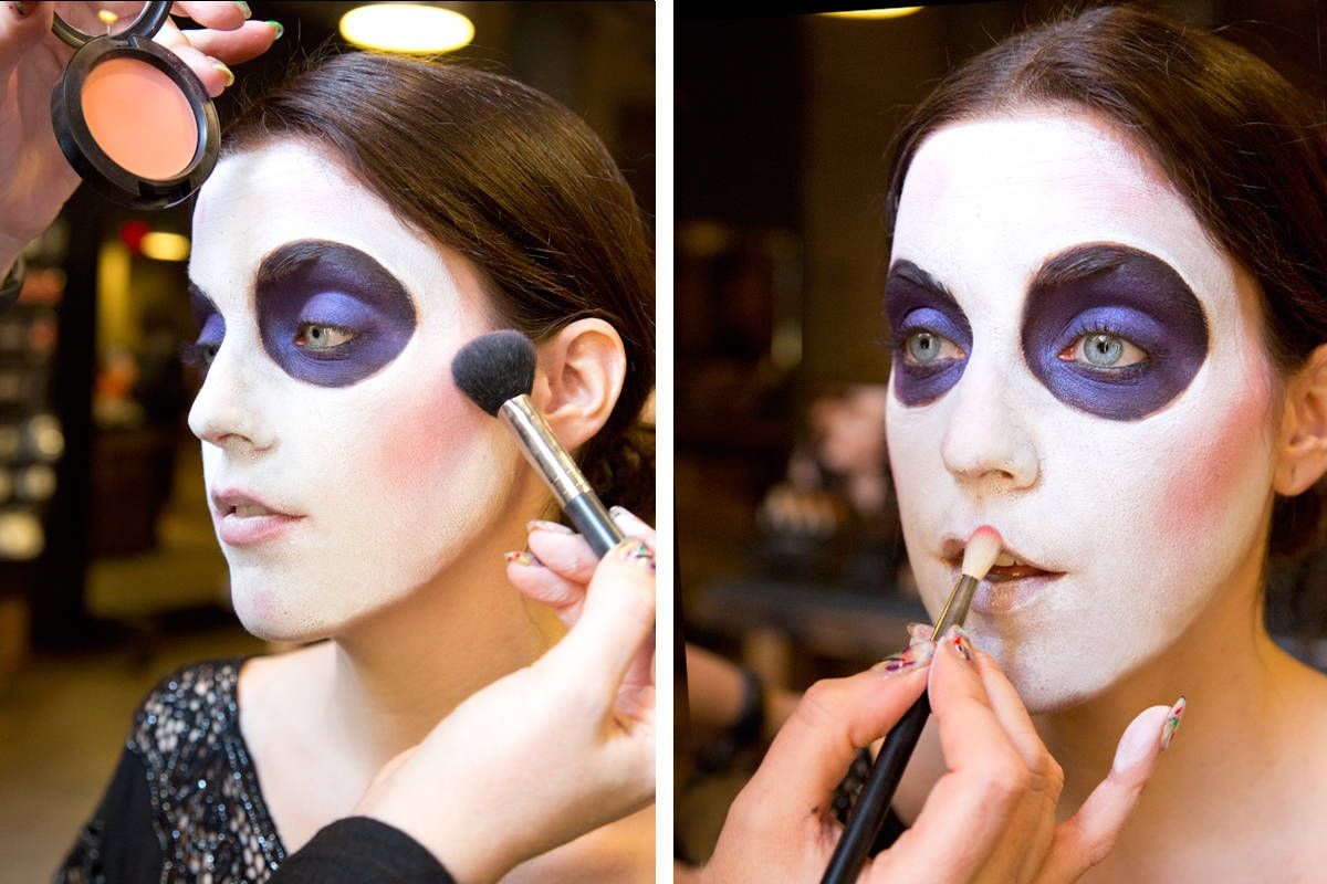 Sugar skull makeup how to how to paint a sugar skull face baditri Image collections