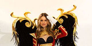 Behind the Scenes with Behati Prinsloo as She Preps for This Year's Victoria's Secret Fashion Show