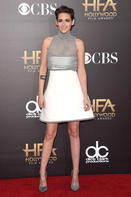 Kristen Stewart Stuns in Revealing Chanel Couture