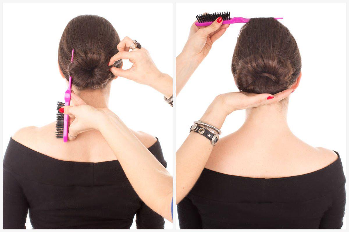 Chignon Bun In 7 Steps How To Do A Chignon Hairstyle