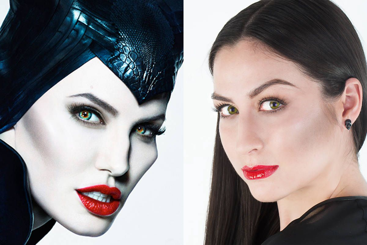 Maleficent Makeup Tutorial 9 Steps To Maleficent Makeover
