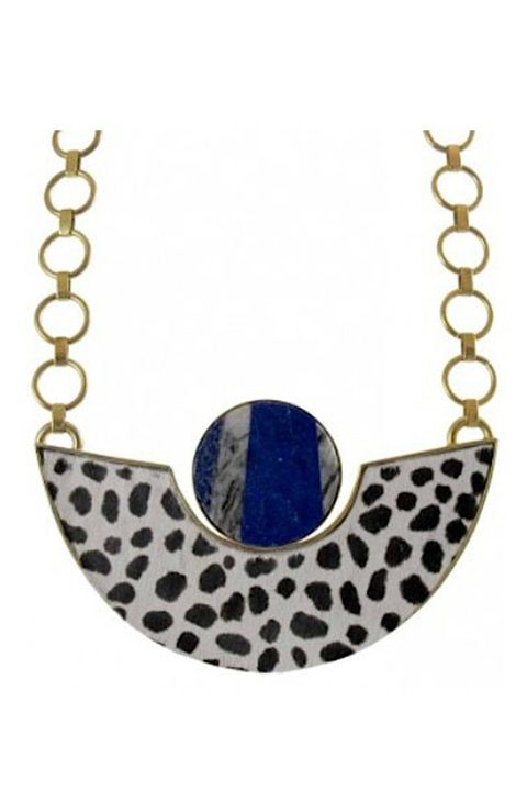 Jewellery, Fashion accessory, Metal, Pendant, Pattern, Natural material, Necklace, Circle, Body jewelry, Electric blue,