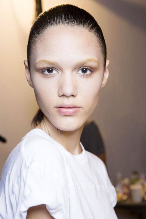 Best Eyebrows Nyfw Backstage Eyebrow Photos From Nyfw