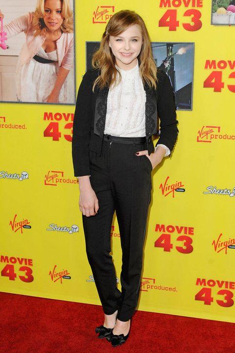 chloe moretz movie 43 premiere 2013