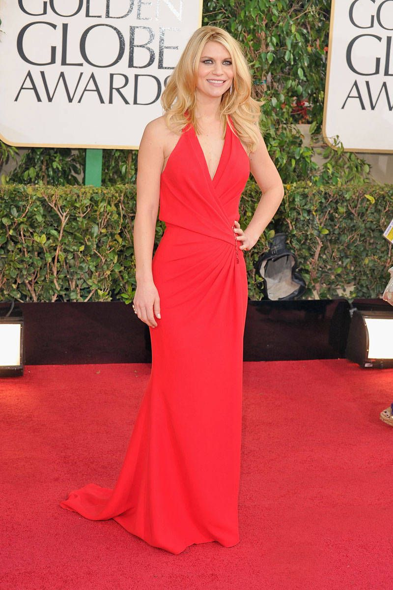 claire danes golden globes dress 2013