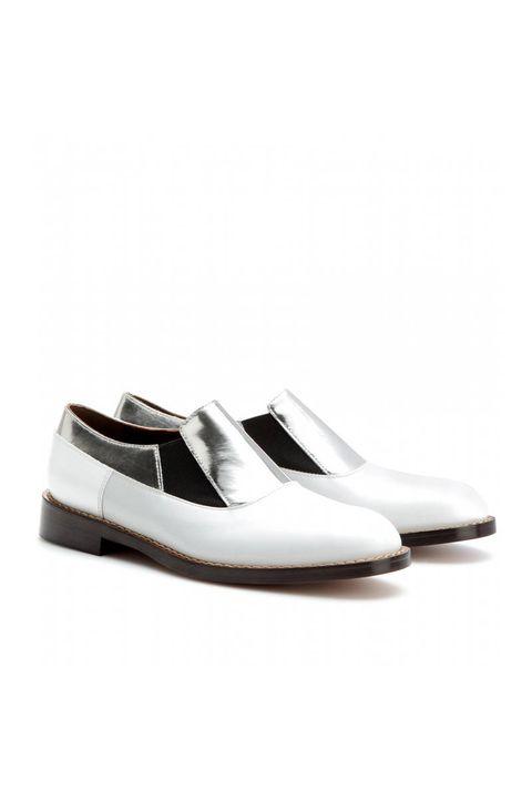 Product, Shoe, White, Tan, Grey, Beige, Dress shoe, Fashion design, Silver, Brand,
