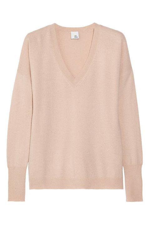 Product, Brown, Sleeve, Collar, Textile, Sweater, White, Pattern, Khaki, Tan,