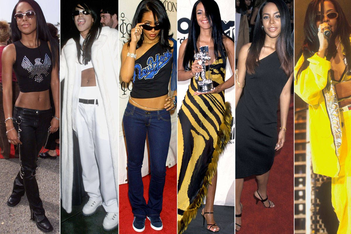 20 Ways To Steal Aaliyah S Style Aaliyah Inspired Fashion