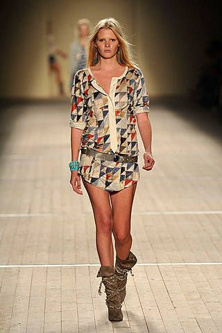 Isabel Marant Spring 2009 Ready-to-wear Collections - 001