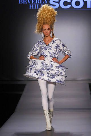 Jeremy Scott Spring 2009 Ready-to-wear Collections - 001