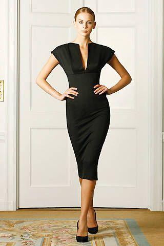 Victoria Beckham Spring 2009 Ready&#45&#x3B;to&#45&#x3B;wear Collections &#45&#x3B; 001