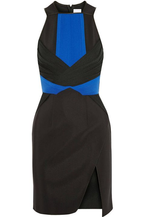 Blue, Sleeve, Textile, Collar, Costume accessory, Electric blue, Black, Costume, Cobalt blue, Costume design,