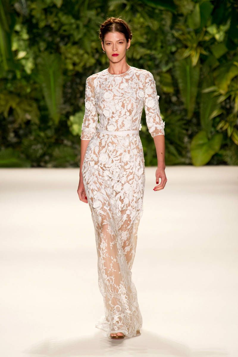 naeem khan spring 2014 ready-to-wear photos