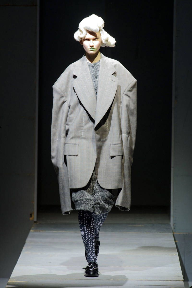 comme des garcons fall 2014 ready-to-wear photos