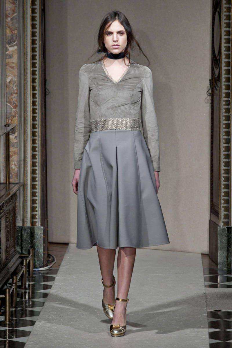 luisa beccaria fall 2014 ready-to-wear photos