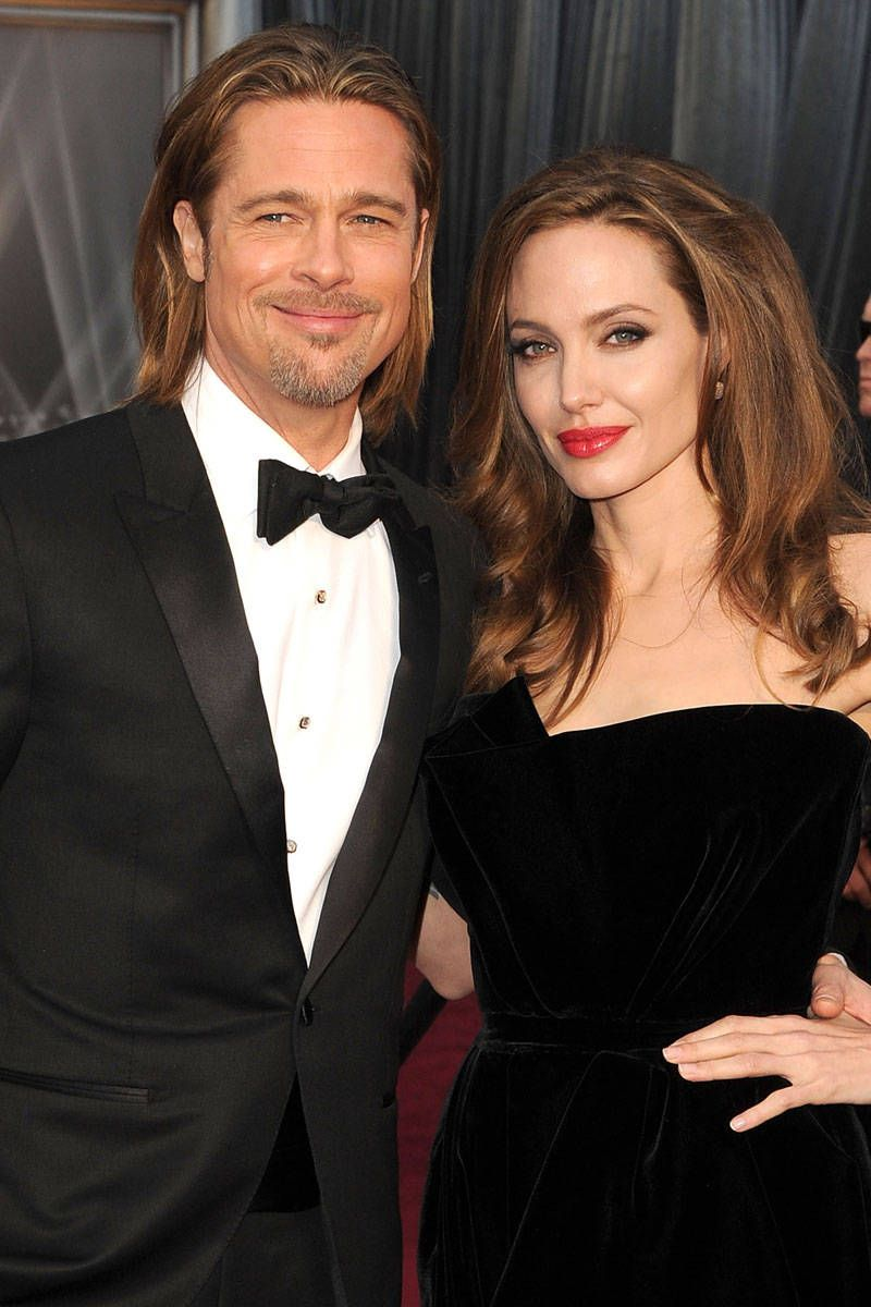 Brad Pitt And Angelina Jolie Married Brangelina Married In France
