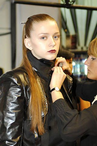 Jens Laugesen Fall 2008 Ready&#45&#x3B;to&#45&#x3B;wear Backstage &#45&#x3B; 001