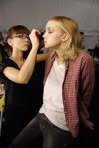 Badgley Mischka Fall 2008 Ready-to-wear Backstage - 001
