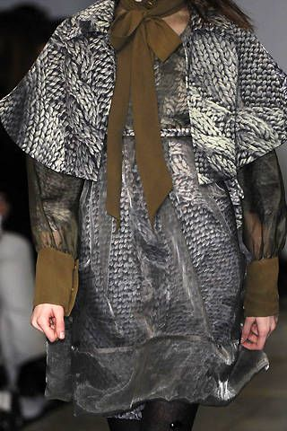 Bora Aksu Fall 2008 Ready-to-wear Detail - 001