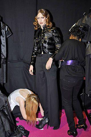 Gavin Douglas Fall 2008 Ready-to-wear Backstage - 001