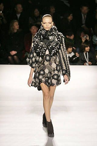Kenzo Fall 2008 Ready-to-wear Collections - 001