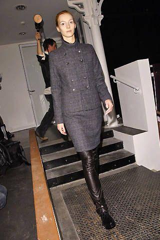 Veronique Branquinho Fall 2008 Ready-to-wear Backstage - 001