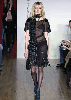 Rebecca Taylor Fall 2003 Ready-to-Wear Collections 0001