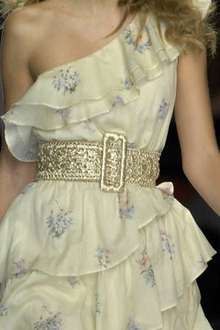 Luisa Beccaria Spring 2009 Ready-to-wear Detail - 001