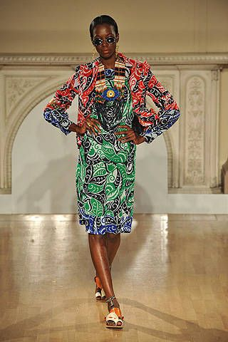 Duro Olowu Spring 2009 Ready-to-wear Collections - 001