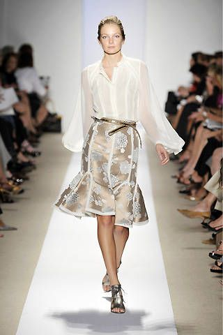 Dennis Basso Spring 2009 Ready-to-wear Collections - 001