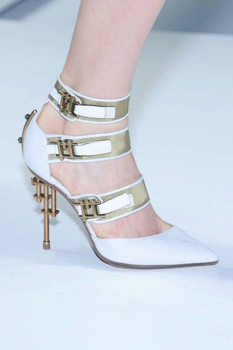 Footwear, Sandal, High heels, Joint, Human leg, Foot, Fashion, Tan, Beige, Bridal shoe,