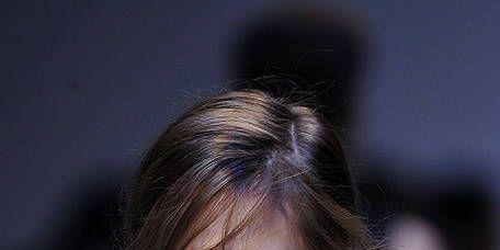Lip, Hairstyle, Shoulder, Eyebrow, Eyelash, Chest, Fashion, Neck, Sleeveless shirt, Active tank,