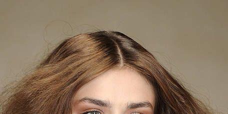Lip, Hairstyle, Chin, Eyebrow, Style, Eyelash, Iris, Long hair, Beauty, Fashion,