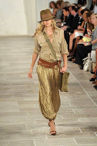 Ralph Lauren Spring 2009 Ready-to-wear Collections - 001
