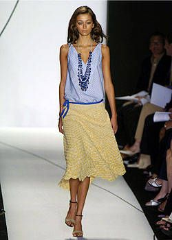Vera Wang Spring 2005 Ready-to-Wear Collections 0001