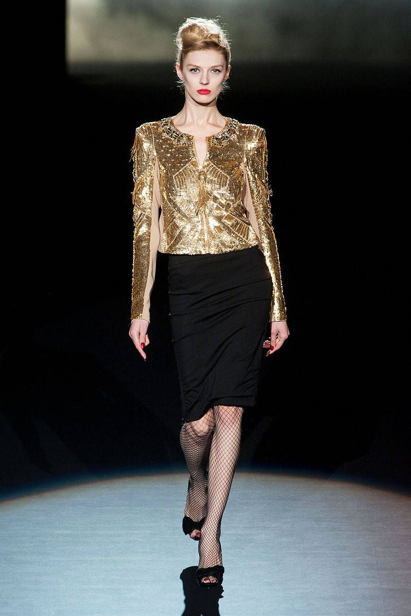 badgley mischka fall 2013 ready-to-wear photos