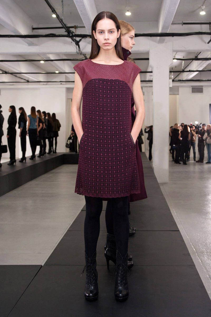 catherine malandrino black label fall 2013 ready-to-wear photos
