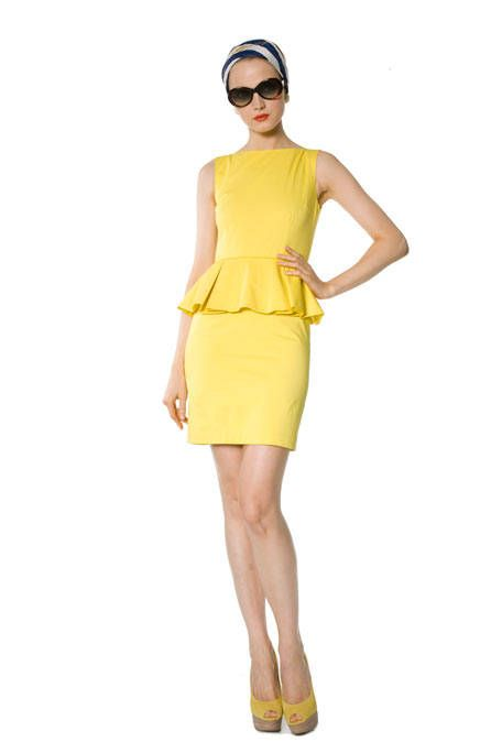 Clothing, Product, Yellow, Sleeve, Human leg, Shoulder, Joint, Standing, White, Sunglasses,