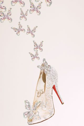 884802edf23 Christian Louboutin Creates Cinderella-Inspired Shoes - Christian ...