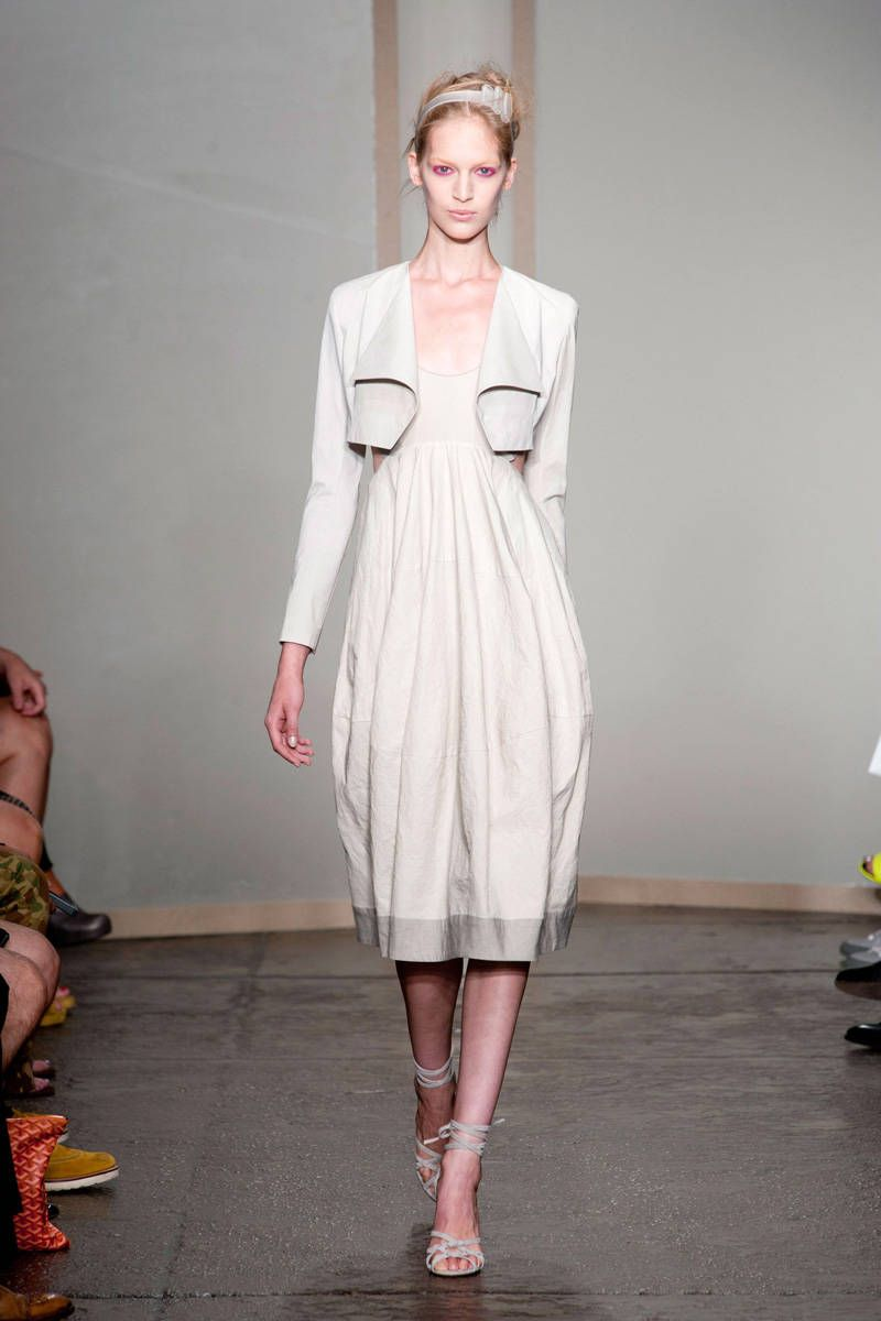 donna karan new york spring 2013 ready-to-wear photos