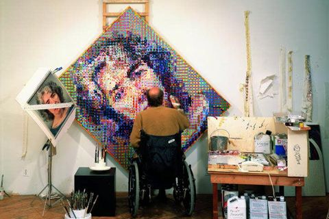 Beauty in the Breakdown: The Artistic Process of Chuck Close