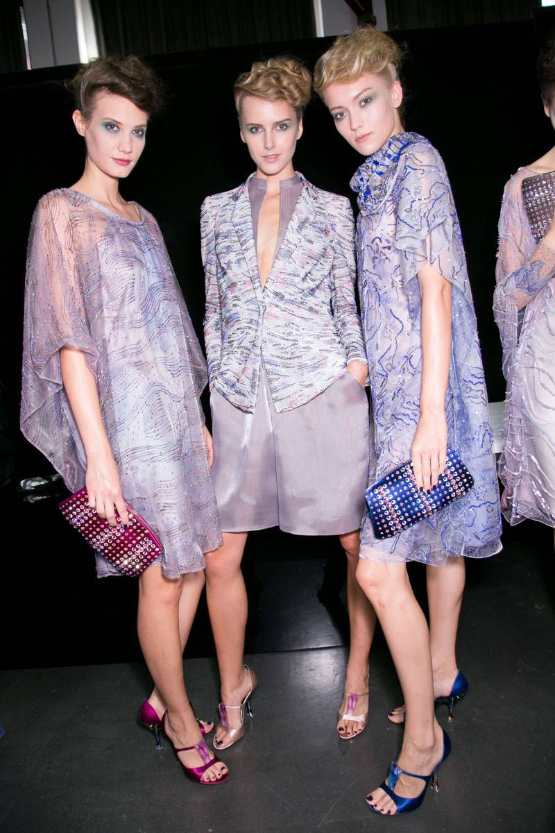 giorgio armani spring 2014 ready-to-wear photos