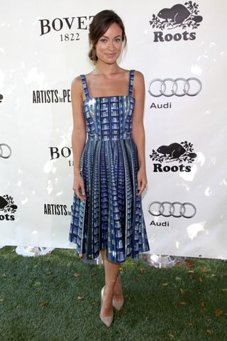 Olivia Wilde and Anthropologie Want to Stop Human Trafficking, One Dress at a Time