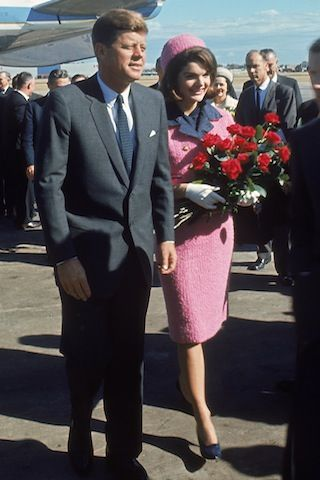 The Real Story Behind Jackie Kennedy's Iconic Pink Suit