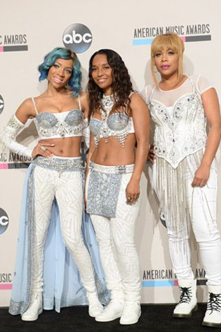 Lil Mama Was Not Intimidated to Stand in for Left Eye During the TLC Reunion at the AMAs